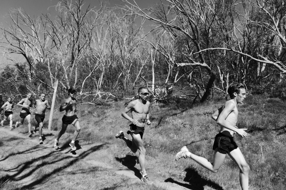 Elites training at Falls Creek, Aus: photo by Ewa Facioni