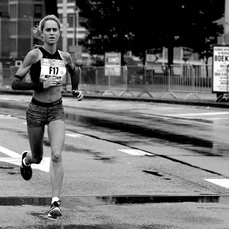 Milly Clark Amsterdam Marathon 2015