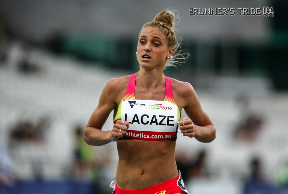 Genevieve LaCaze, Melbourne IAAF World Challenge 2016: Photo by Jarrod Partridge for Runner's Tribe