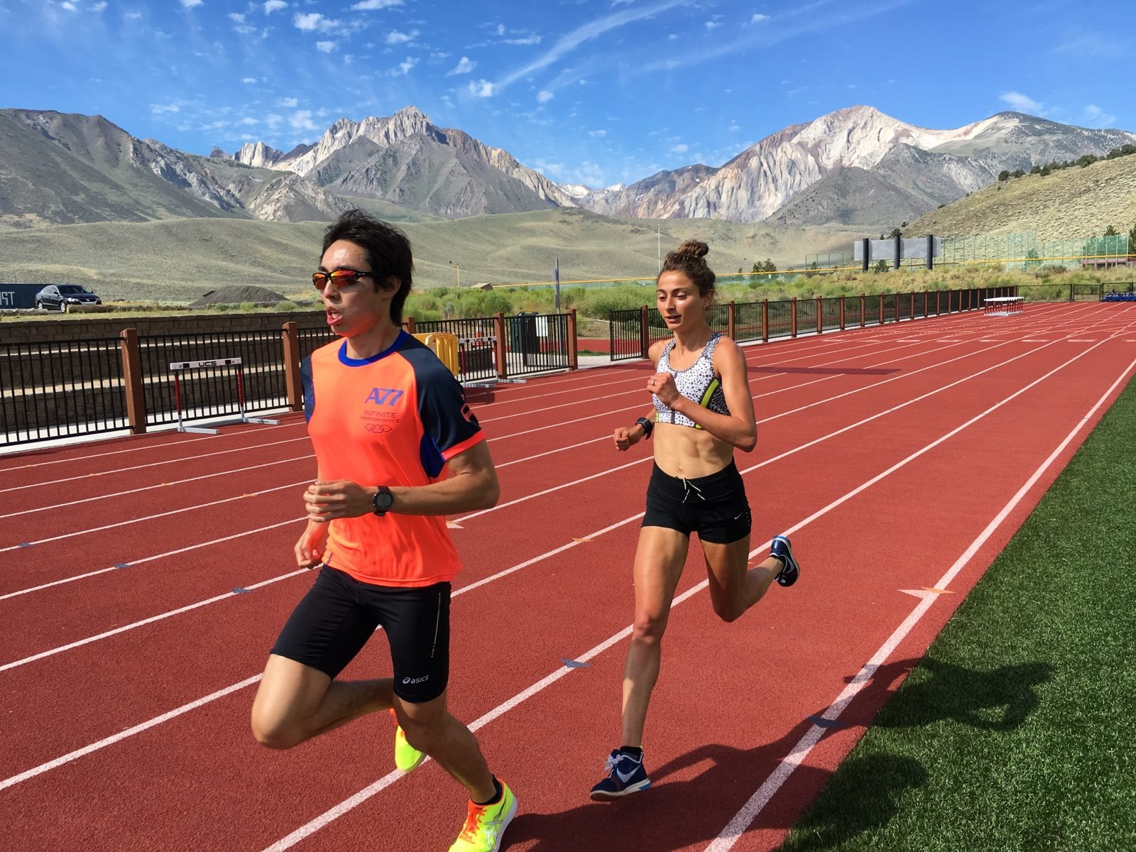 Photo by Andrew Kastor — with Alexi Pappas in Mammoth Lakes 9d1c2ee510