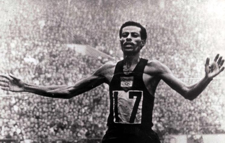 Abebe Bikila TOKYO 1964