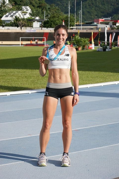 Ellen Schaef at the 2016 Polynesian Championships in Athletics