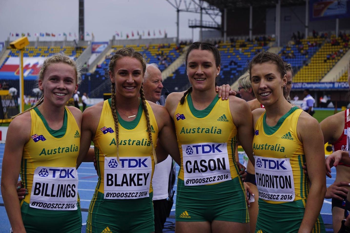 Photo Bydgoszcz, Poland, '16 thanks to Athletics Australia