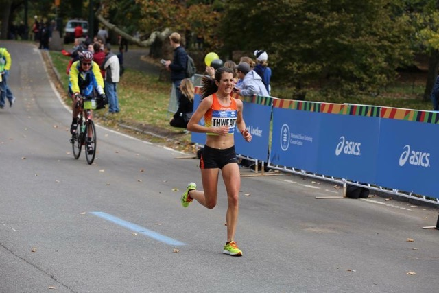 Laura Thweatt successfully implemented her favourite Mango SOS as a key part of her fuelling for the NYC Marathon in 2015 where she was 1st American.