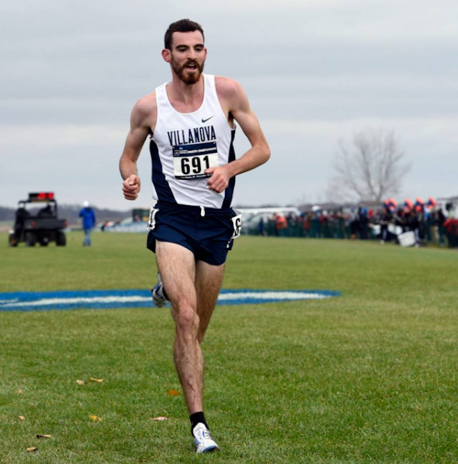 Australia's Patrick Tiernan of Villanova Track & Field on his way to winning the 2016 NCAA D1 Cross Country Championships: Photo thanks to @TaFphoto