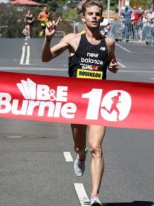 Brett Robinson had a super year on the roads, including victory in the Burnie Ten