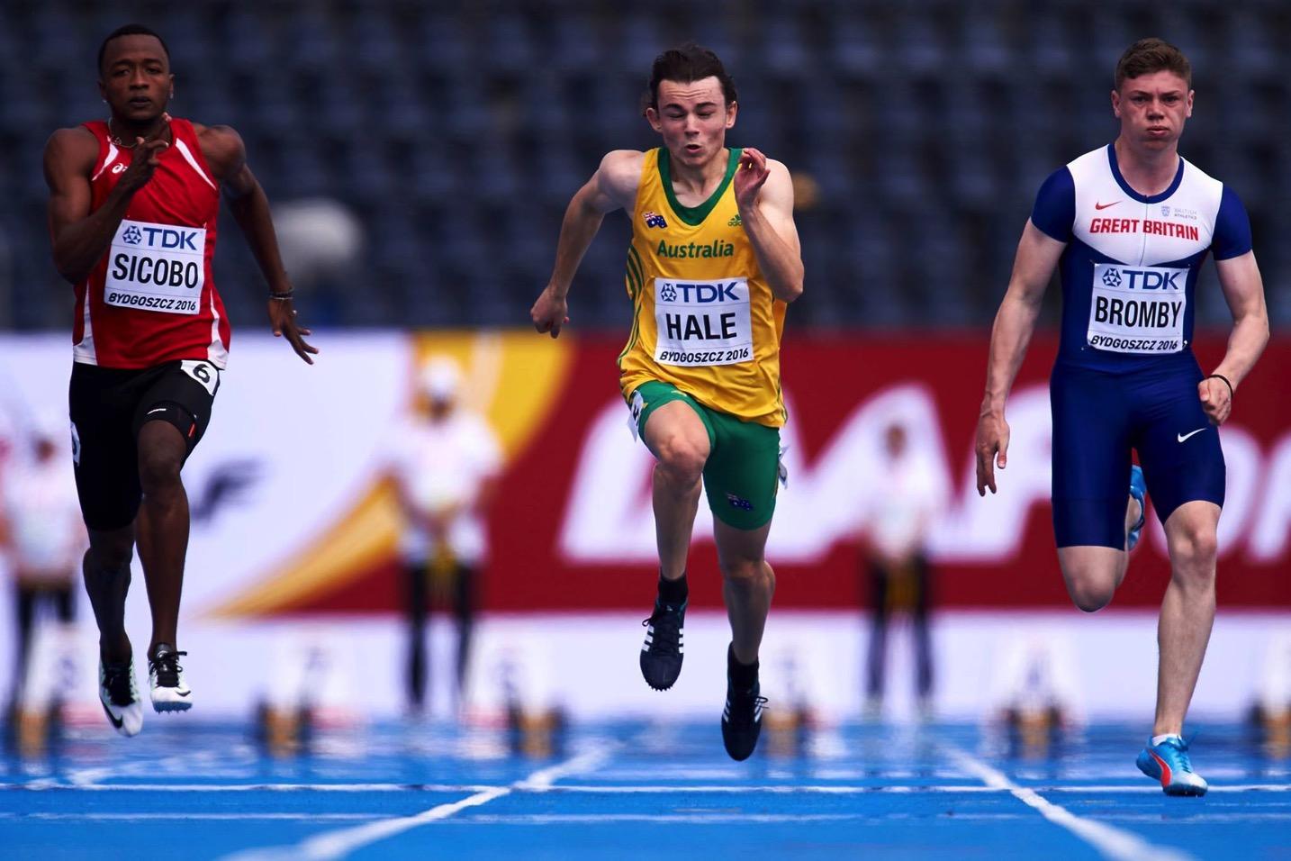 IAAF World U20 Championships Bydgoszcz 2016: Photo thanks to Athletics Australia