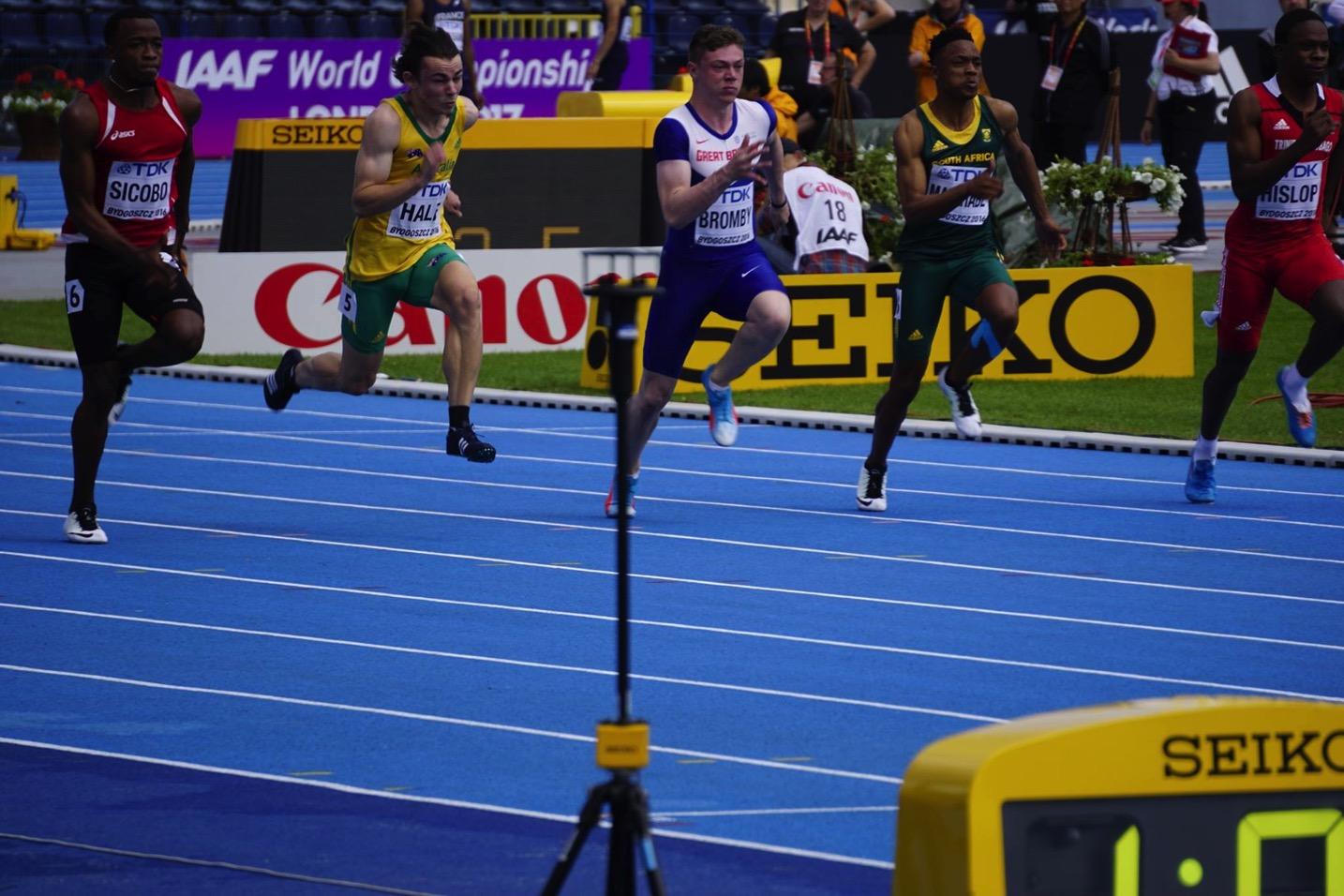 Stadion Zawisza Bydgoszcz World U20 Champs: Photo thanks to Athletics Australia
