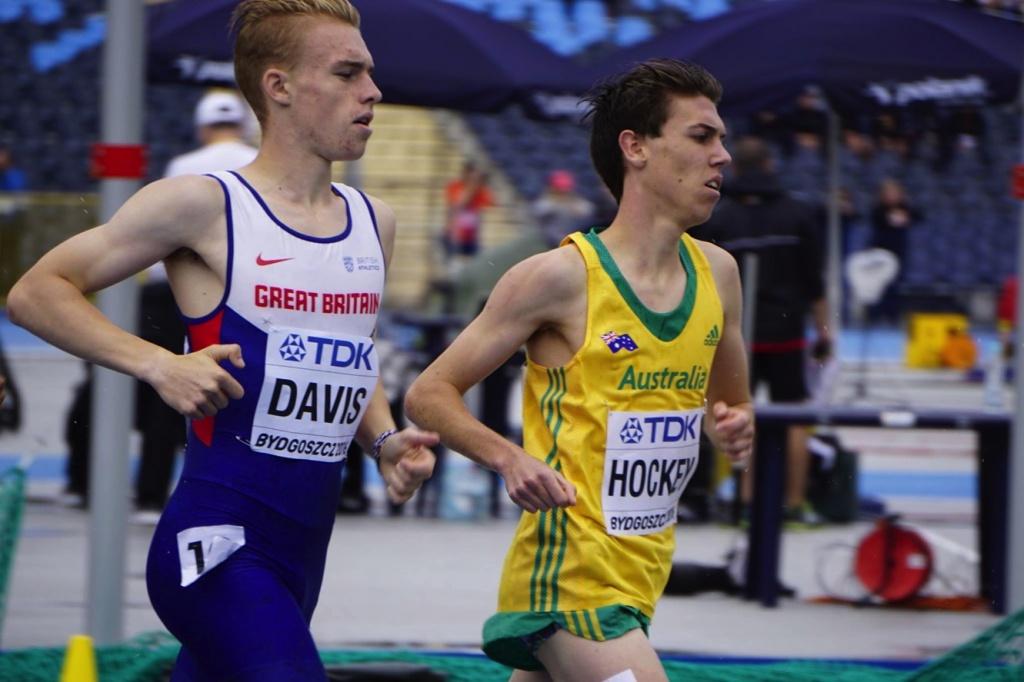 Photo of Isaac Hockey in Bydgoszcz, Poland '16 thanks to Athletics Australia