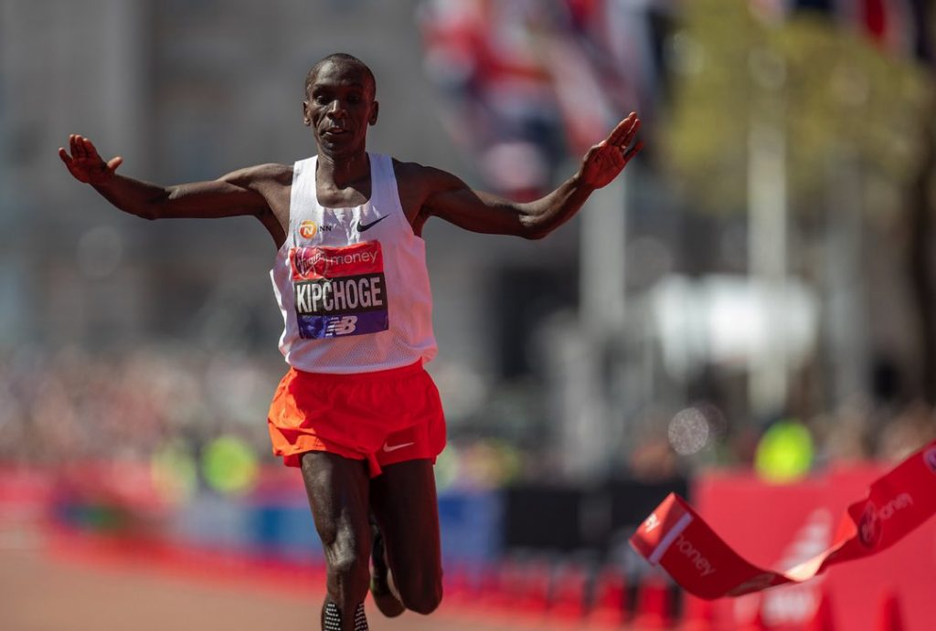 Kipchoge wins 3rd London Marathon; Cheruiyot gets 1st title