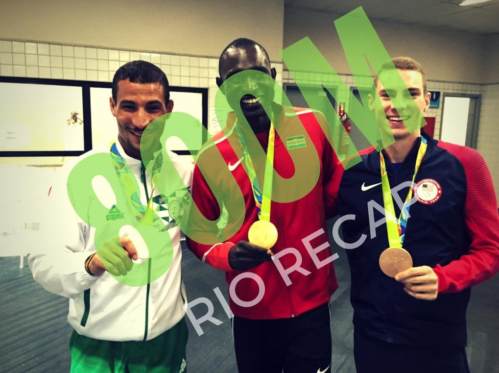 Read the Men's 800m Olympic Recap