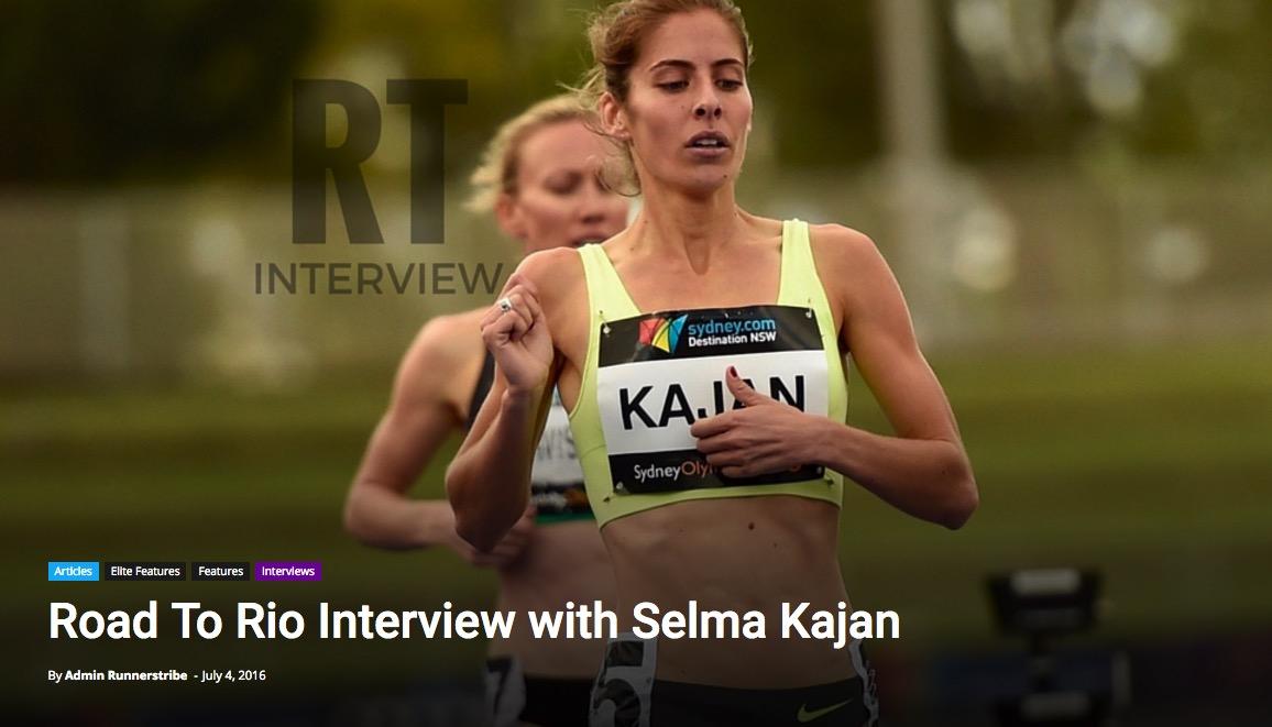 Click to read Selma Kajan's Road to Rio Interview