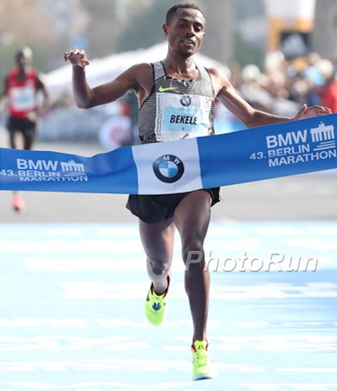 second fastest marathon runner ever