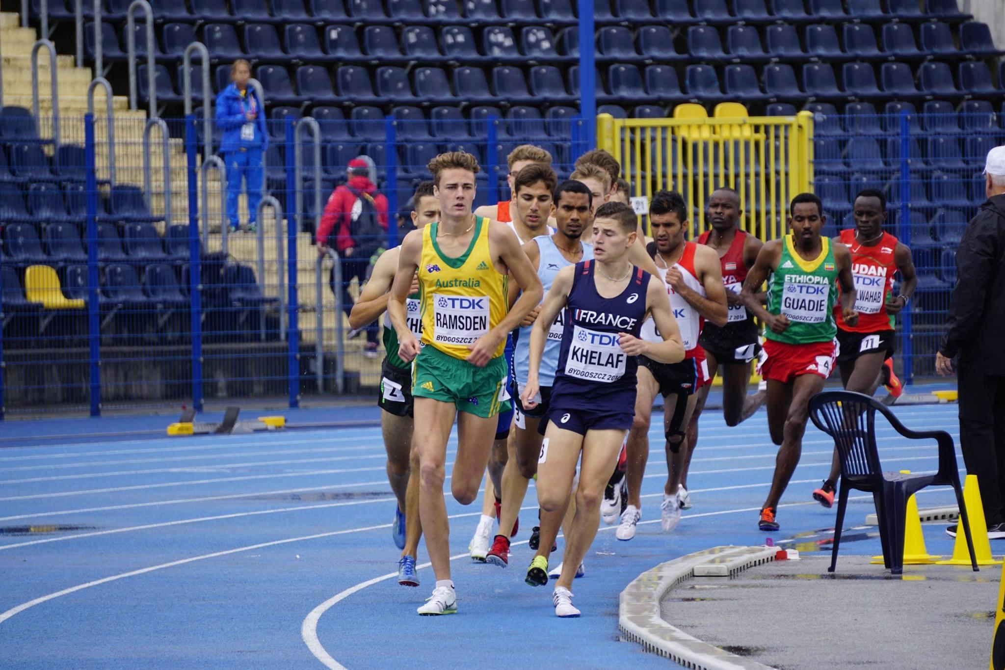 Matthew Ramsden at Stadion Zawisza Bydgoszcz: Picture thanks to Athletics Australia