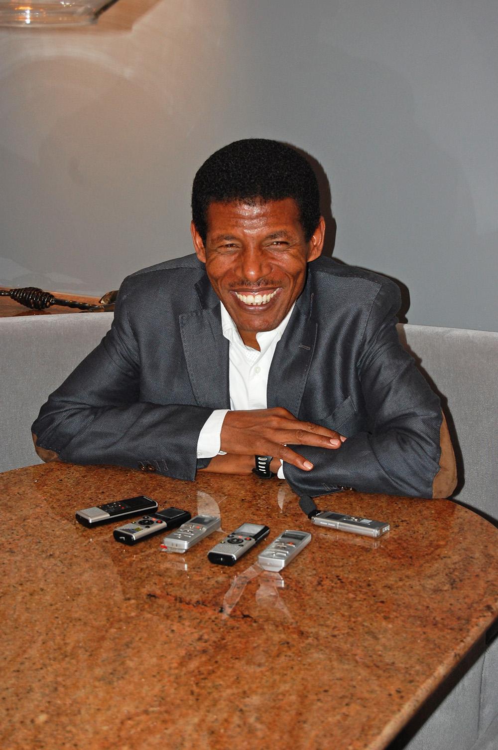 Ethiopian Marathon Legend Haile Gebrselassie