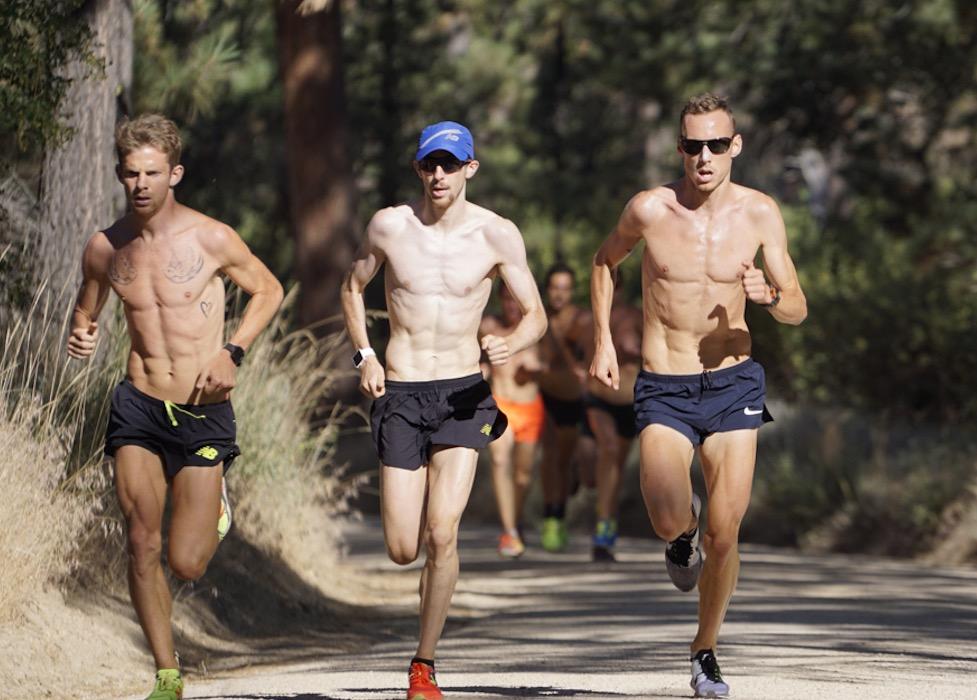 2016 Rio Olympians and MTC teammates, Brett Robinson, David McNeill and Ryan Gregson