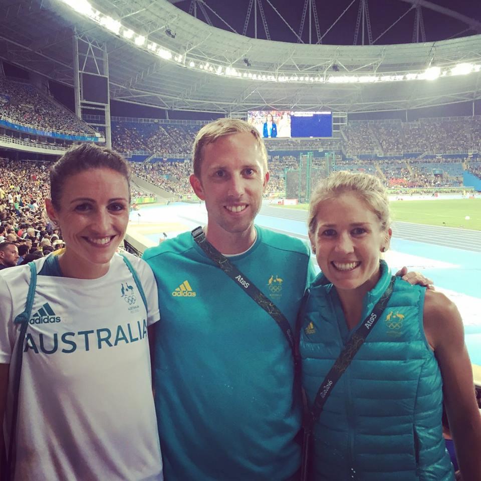 Adam Didyk, Madeline Heiner Hills, and Jess Jessica Trengove