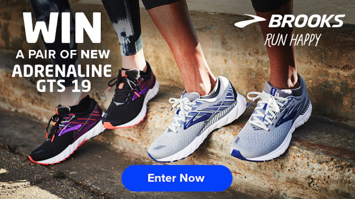 15f755122ce4a Win the new Brooks Adrenaline GTS 19 - ENTER NOW - Runner s Tribe