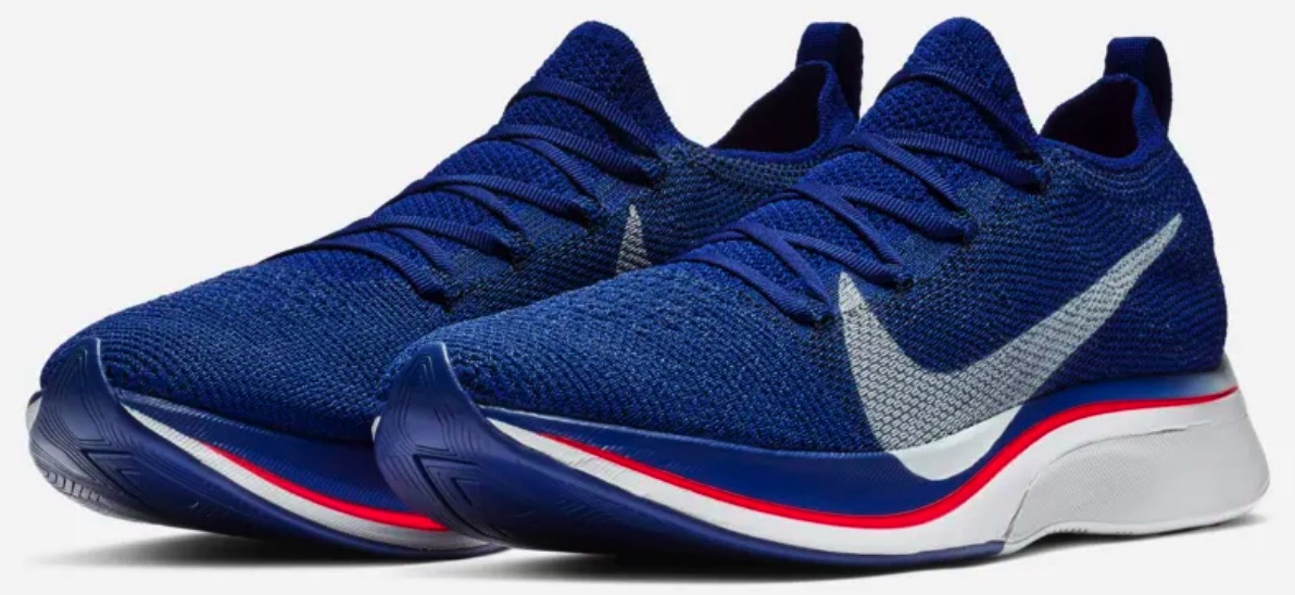f2274adf1eb5 A year later Nike has released an updated 4%. The  Nike Vaporfly 4% Flyknit   incorporates a new sock-like one-piece knit upper.