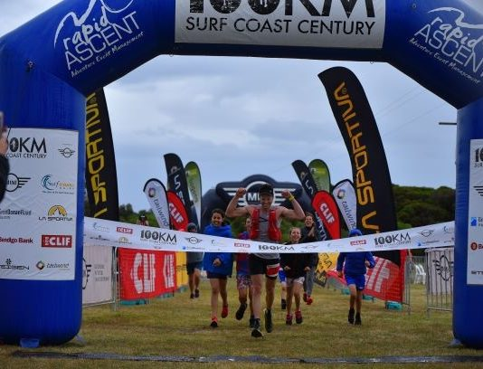 Ross Hopkins wint he Surf Coast Ce