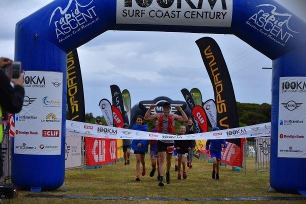 Ross Hopkins wint he Surf Coast Ce